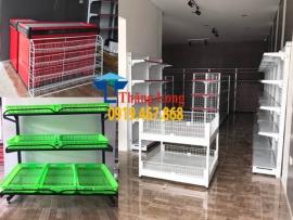 Dự án lắp đặt kệ siêu thị cạnh ngân hàng Liên Việt Bắc Giang