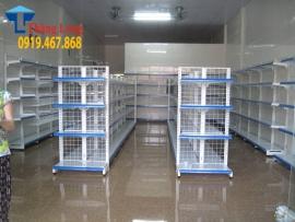 Lắp đặt giá kệ siêu thị tại Thị trấn Cẩm Xuyên, Hà Tĩnh