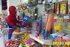 Cung cấp lắp đặt kệ trưng bày đồ chơi trẻ em giá rẻ