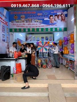 Dự án lắp đặt giá kệ đa năng cho hệ thống siêu thị sữa Tùng Trang