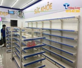 Dự án lắp quầy kệ thuốc tây cho hệ thống nhà thuốc Pharmacity