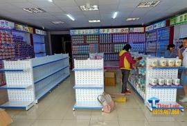 Giới thiệu các mẫu kệ trưng bày sữa và hàng hóa cho siêu thị