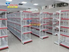 Quầy kệ siêu thị có thể sử dụng được bao lâu