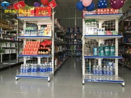Tại sao sử dụng giá kệ siêu thị trở thành xu hướng bán hàng hiện đại