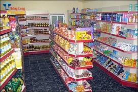 Thiết kế gian hàng siêu thị thu hút khách hàng