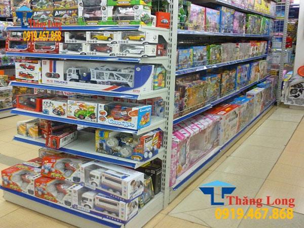 Giá kệ siêu thị bày đồ chơi trẻ em