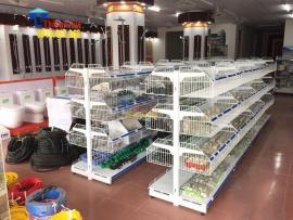 Kệ bày hàng điện nước, thiết bị nội thất