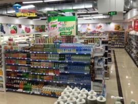 Cung cấp giá kệ siêu thị để hàng tạp hóa tại Quảng Trị