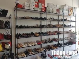 Tổng hợp các mẫu kệ sắt trưng bày giày dép bền đẹp