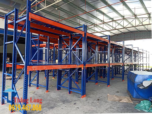 Dự án lắp kệ hạng nặng KCN Thuận Thành 2 Bắc Ninh