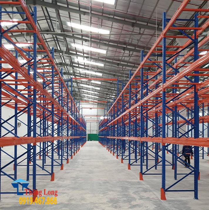 Lắp đặt kệ kho hàng nặng (kệ công nghiệp)