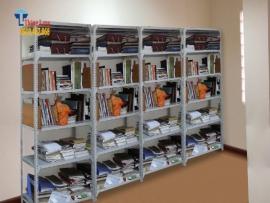 Cung cấp giá kệ sắt lưu trữ hồ sơ, tài liệu văn phòng