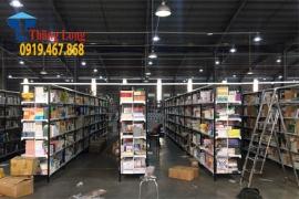 Dự án lắp đặt giá kệ đa năng thông minh cho Công Ty Cổ Phần Phát Hành Sách TP.HCM FAHASA
