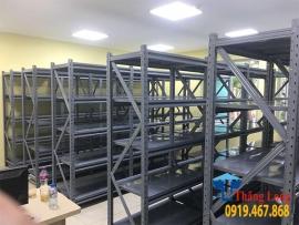Những mẫu kệ sắt nhà kho được sản xuất và phân phối tại Thăng Long