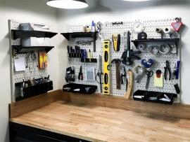 Sử dụng bảng treo dụng cụ cơ khí tối ưu chi phí và không gian