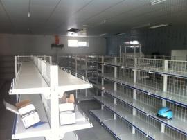 Tư vấn và lắp đặt kệ siêu thị cho chị Minh ở Ngọc Thụy-HN