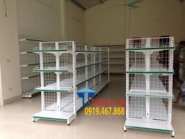 Cung cấp và lắp đặt giá kệ siêu thị tại hải dương giá rẻ chất lượng