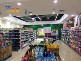 Kệ trưng bày bánh kẹo bền đẹp, giá rẻ cho cửa hàng, siêu thị
